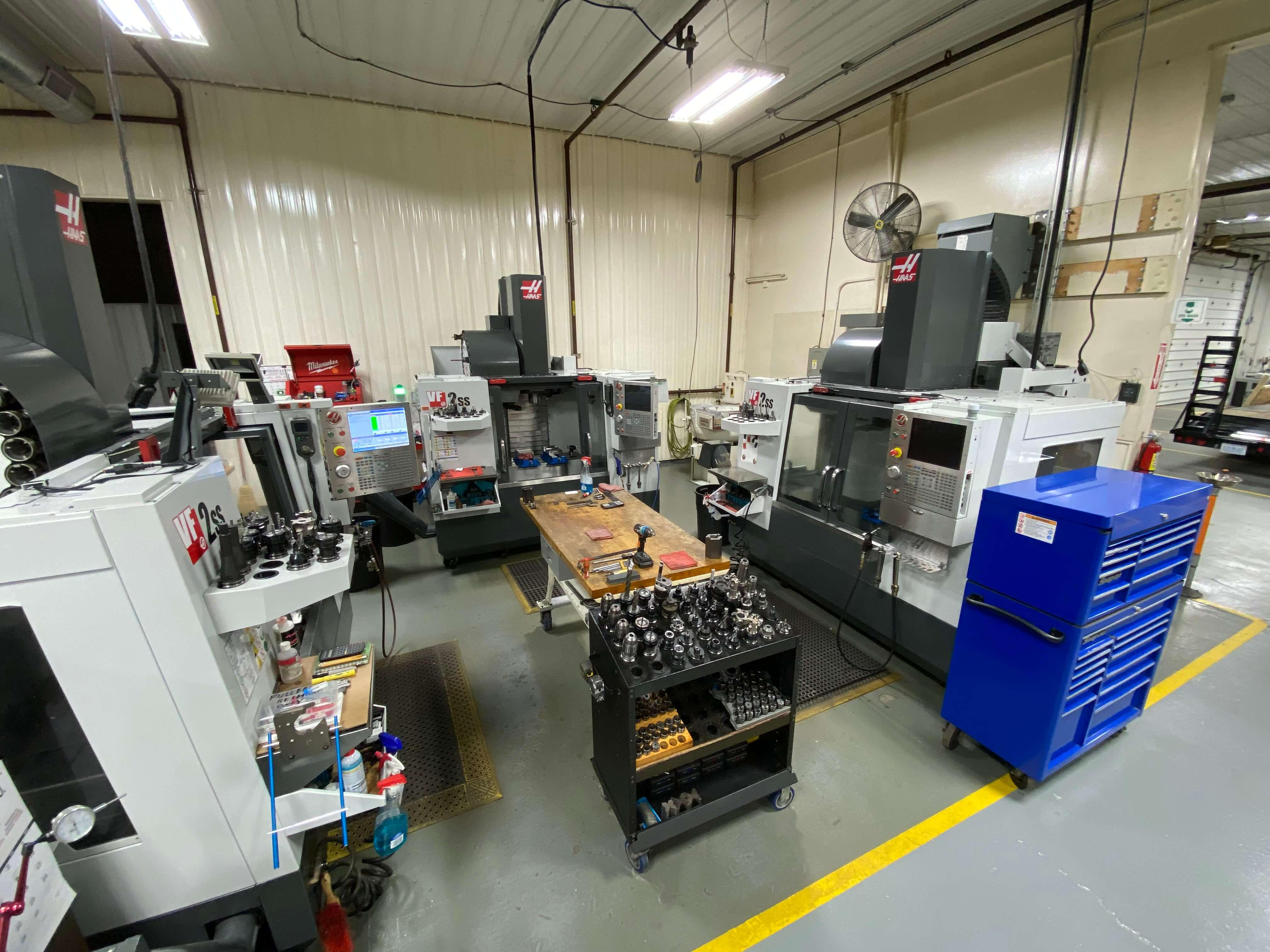 Cardinal Machinery Production Facility